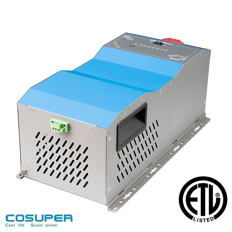 DC12V to AC220V Buena disipaci/ón de Calor Convierte Voltaje CC a Convertidor CC//CA de 3000 W inversor de Onda sinusoidal Pura anticorrosi/ón